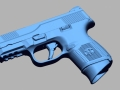 thumbs FNH FNS 9c 3D Scanning & Inspection of Weapons