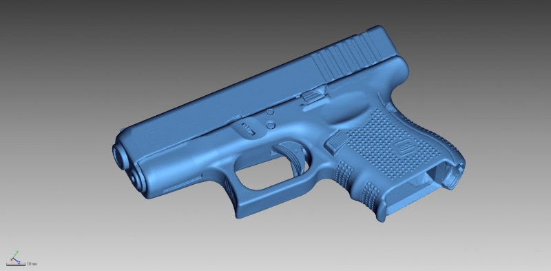 3D Scanning of Weapons | 3D Weapon Inspection |EMS USA