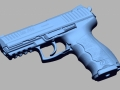 thumbs HK P30 9mmx19 3D Scanning & Inspection of Weapons