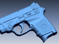 Smith & Wesson Bodyguard 3D Scan data