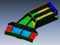 Aerospace structural part 3D Scan data to 3D CAD data comparison