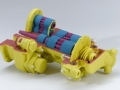 3D Color printed in one model - great for cutaway models