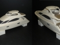 3D Printed scaled yacht model