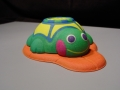 Kids bath toy 3D printed model in full color