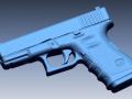 Glock 19 3D scan