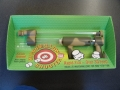 Marshmallow shooter gun 3D Printed model in full color