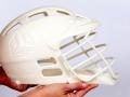 Lacrosse helmet 3D Printed model
