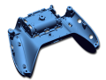 Game controller housing part high resolution 3D scan