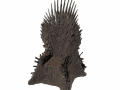 HBO Game Of Thrones Sword Throne 3D Scan data
