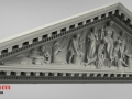 Pediment raw 3D scan data - notice the detail and quality