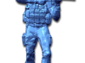 3D Scan data of Seal Team 6 statue