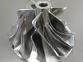 Fully dense metal impeller
