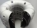 Cutaway of jet engine fuel injector