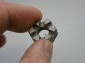 Metal 3D printed nut