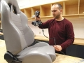 3D Scanning of a car seat