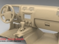 3D Scan of Hummer Interior