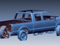 3D scan of a Ford truck