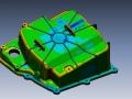 Lamborghini Huracán oilpan 3D CAD data compared to 3D Scan data