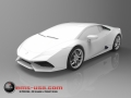 Lamborghini Huracan_Rendering from CAD data