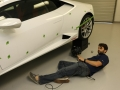 3D scanning of a Lamborghini Huracán lower areas