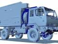 3D scan of a truck