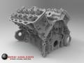 V8 Engine Fully CAD modeled