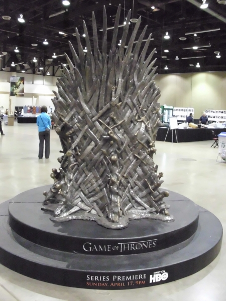 HBO Game Of Thrones Sword Throne 1 Entertainment & Theme Parks