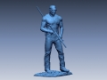 3D Scan data of Chris Kyle statue
