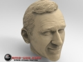 3D Scan of John Wayne sculpture rendered