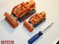 3D Print of bulldozer models