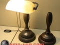 3D scan and 3D Print of a lamp - original on right