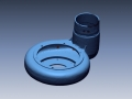 3D scan of volute housing