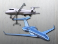 3D Scan and CAD model of Global Express aircraft