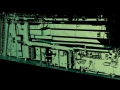 Ship control room 3D scan data