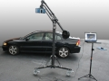 Surphaser 3D scanner on a jib arm for 3D scanning