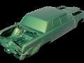 Green Hornet car 3D scan data