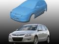 Automobile 3D scan data