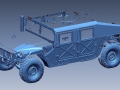 Hummer sample scan data from two 3D Scans