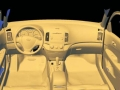 3D Scan of car interior