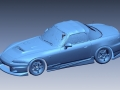 3D Scan of Honda S2000