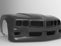 Rendering of car front fascia