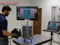 3D Scanning of an engine block with no surface treatment required