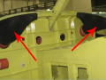 End use ducts on an aircraft