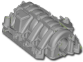 3D scan of an intake manifold