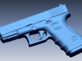 3D Scan of a handgun - EMS posses an FLL to scan any weapon