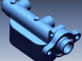 3D scan of a brake manifold