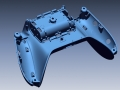 Game controller bottom piece