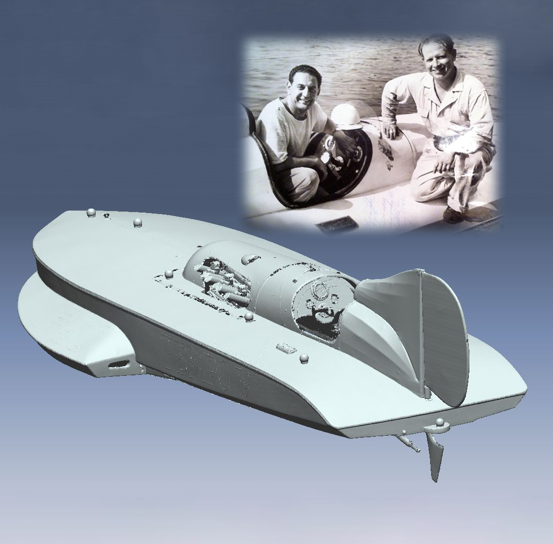 EMS Scan Lombardi EMS 3D Scans a Piece of Boat Racing History