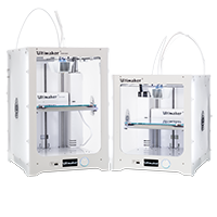 Ultimaker both 200x200 Ultimaker 3 & 3 Extended