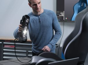 GoSCAN SPARK Inspection Metrology Lab 3 300x220 Creaform New 3D Scanner Showcase